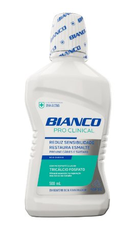 Enxaguante Bucal Bianco Pro Clinical 500ml