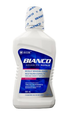 Enxaguante Bucal Bianco Advanced Repair 500ml
