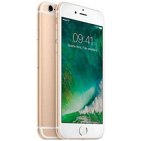 """iPhone 6s Apple 16GB Dourado 4G Tela 4.7"""" - Retina Câmera 5MP iOS 11 Proc. A9 Wi-Fi"""