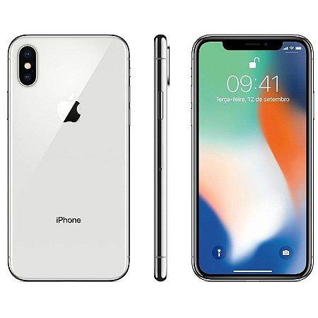 iPhone X Apple Prata, 64GB Desbloqueado - MQAD2BZ/A