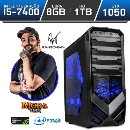 PC Gamer Neologic Moba Box NLI80159 Intel Core i5-7400 7ª Geração 8GB (Gtx 1050 2GB) 1TB