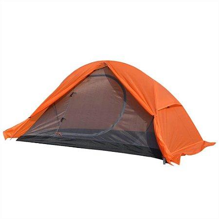 Barraca Camping Mykra 1/2 Pessoas Azteq Laranja