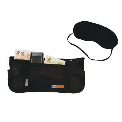 kit Vit Vox Azteq (Pochete Money Belt + Tapa Olhos)