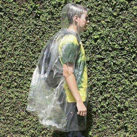 Capa de chuva Poncho de Emergência - Nautika