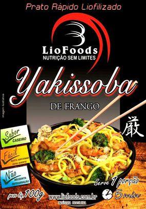 Yakissoba de Frango - Liofoods