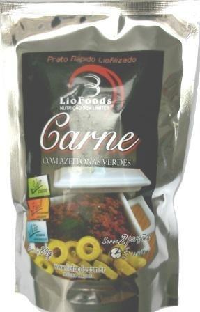 Carne com Azeitonas (2 porções) - Liofoods