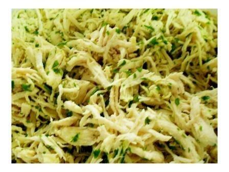 Frango Desfiado com Salsa (2 porções) - Liofoods