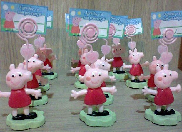 Lembrança De Aniversário Peppa Pig - Porta Foto - Recado