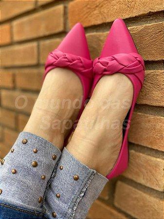 Sapatilha Trança Pink