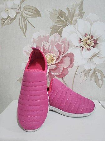 Tênis Meia INFANTIL Bordado Pink