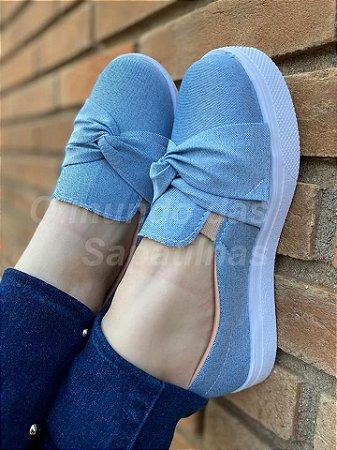 Tênis Slip On Jeans Paris