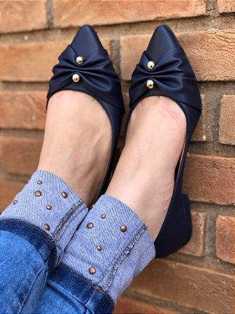Sapatilha Elegance Azul Marinho
