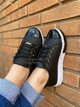 Tênis Cadarço Shoes Preto