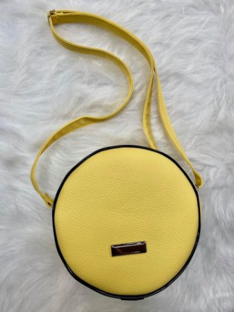 Bolsa Redonda Brisa Amarela