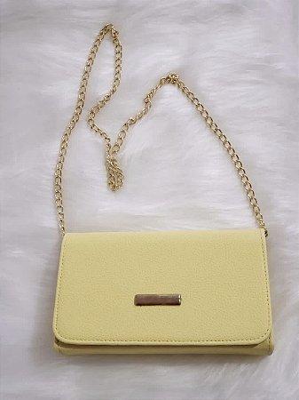 Bolsa Quadrada Amarela