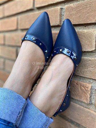 Sapatilha Valentino Azul Marinho