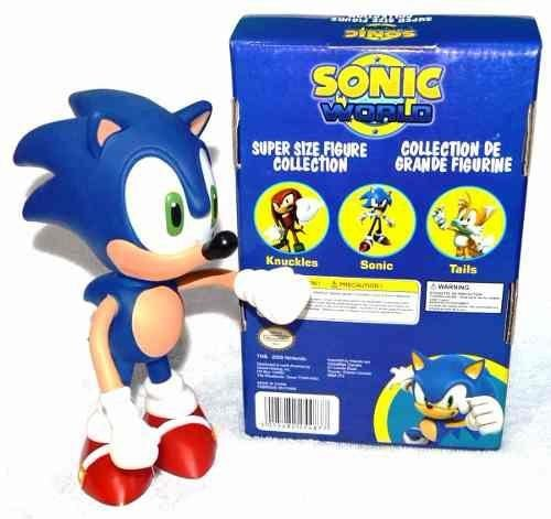 Bonecos Grandes 25cm - Sonic Collection