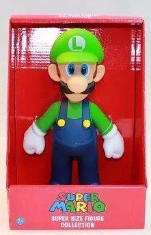 Bonecos Grandes-super Mario Collection- Luigi 25 Cm