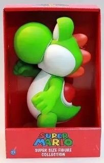 Bonecos Grandes 24cm - Super Mario Bros Collection Yoshi