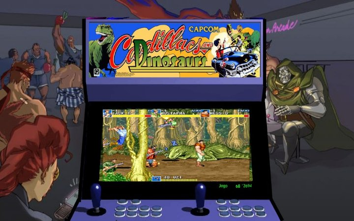Sistema Multi Game - The Best Arcade