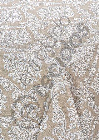 Toalha de Mesa em Jacquard Fio Tinto Retangular (várias cores e tamanhos)