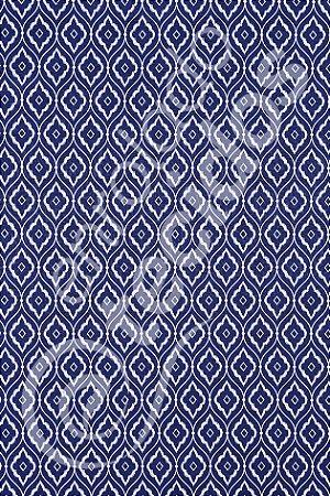 Tecido Jacquard Estampado Arabesco Azul Marinho 1,40m de Largura