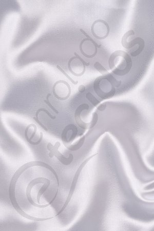 Tecido Cetim Branco 1,50m de Largura