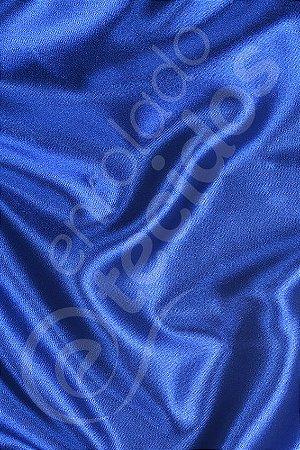 Tecido Cetim Azul Royal 1,50m de Largura
