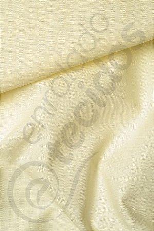 Tecido Percal 150 Fios Pérola Amarula 2,50m de Largura