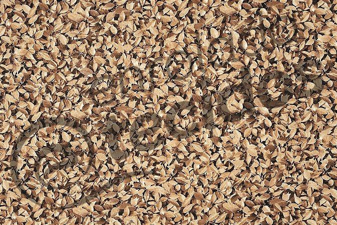 Tecido Jacquard Estampado Muro Inglês Folhas Secas 2,80m de Largura