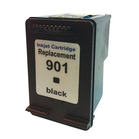 Cartucho de Tinta Compatível HP 901 Preto 7ml