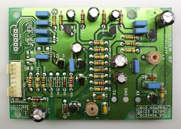 Placa montada do Detector Fetal MD700LX