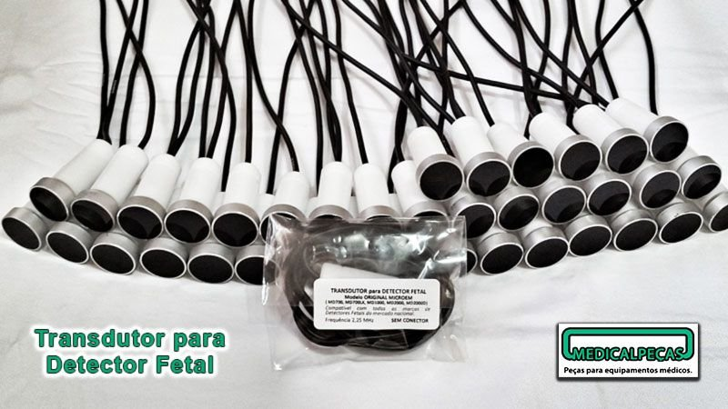 Transdutor Detector Fetal (Sem Placa) - 100 Peças