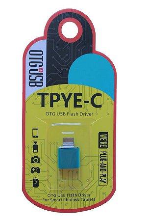 Adaptador USB Tipo C Cores Sortidas