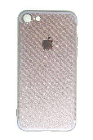Capas para Celular IPhone 7 Silicone Dourada