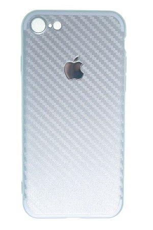 Capas para Celular IPhone 7 Silicone Prata