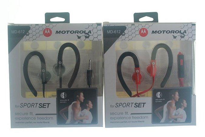 Fone de Ouvido Motorola Sport Set Cores Sortidas