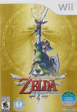 Jogo Wii Usado The Legend of Zelda: Skyward Sword