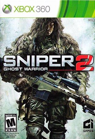 Jogo XBOX 360 Usado Sniper Ghost Warrior 2