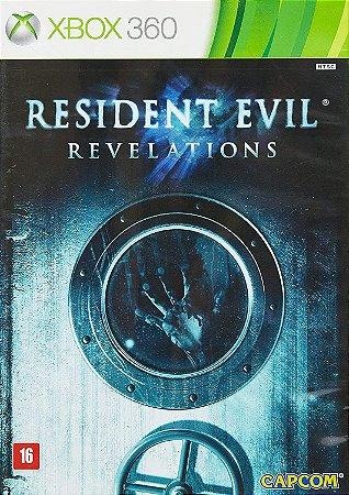Jogo XBOX 360 Usado Resident Evil Revelations