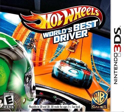 Jogo 3DS Usado Hot Wheels World's Best Driver