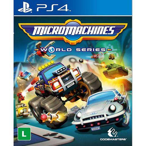 Jogo PS4 Usado Micromachines World Series