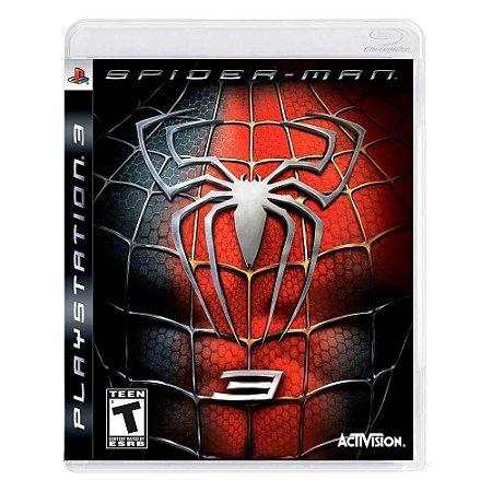 Jogo PS3 Usado Spider-Man 3