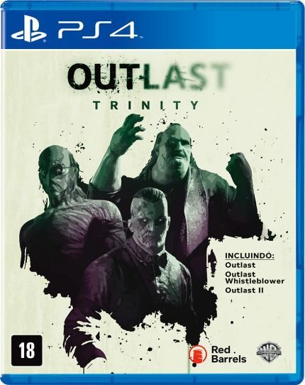 Jogo PS4 Usado Outlast Trinity