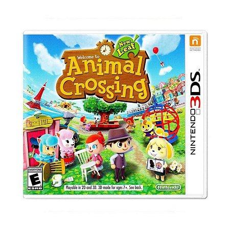 Jogo 3DS Usado Animal Crossing: New Leaf