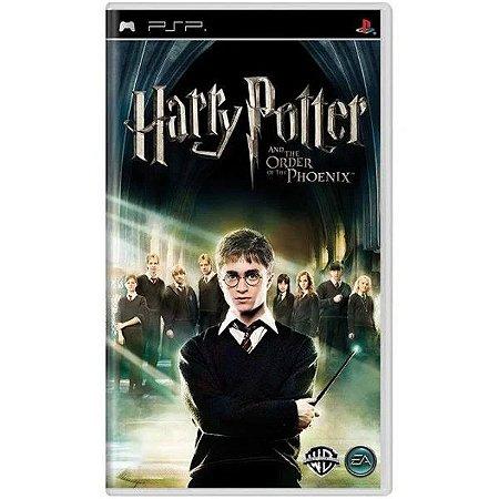 Jogo PSP Usado Harry Potter e A Ordem Da Fênix (EU)