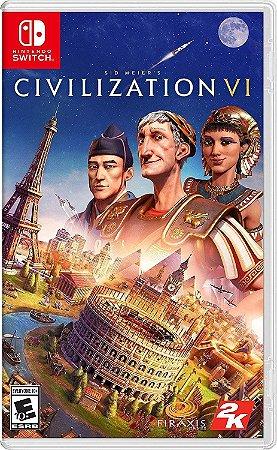 Jogo Switch Usado Sid Meier's Civilization VI