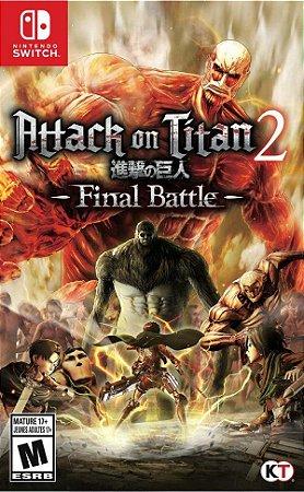Jogo Switch Usado Attack on Titan 2: Final Battle