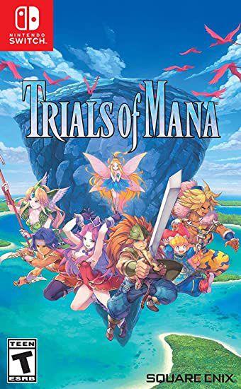 Jogo Switch Usado Trials of Mana