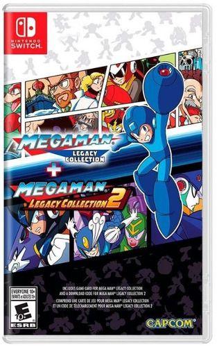 Jogo Switch Usado Mega Man Legacy Collection 1 + 2